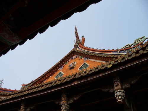 孔子廟 側面