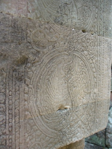 バイヨン寺院の列柱文様