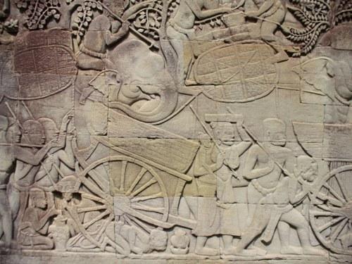 バイヨン寺院 第一回廊