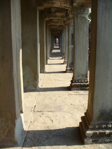 アンコールワット 第一回廊西面